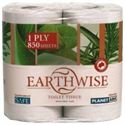 Picture of Earthwise Recycled Toilet Tissue 1 Ply 850 Sheet Pack/4