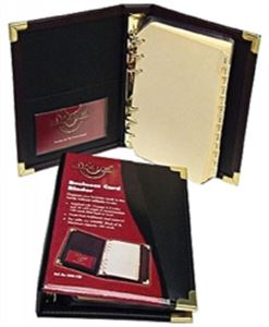 Printmax Colby Waterville W85 Business Card Album A5