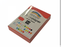 Picture of Copy Paper Rainbow 4 80gsm  Bright Red PK500